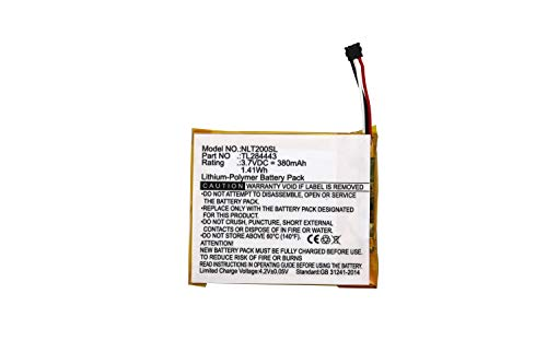 TL284443 Battery Replacement for Nest T3007ES T3008US Learning Thermostat 3rd Generation Learning Thermostat 2nd Generation A0013