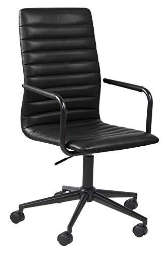 Amazon Brand - Movian Dubna - Silla de escritorio, 58 x 45 x 103 cm, negro