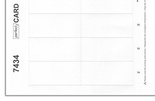 Badgepoint drukvel (voor magnetische naambordjes, 10 A4-vellen, 160 naamkaarten, 74 x 34 mm, zelfbeschrijfbaar voor inkjet- en laserprinters, labeling via de pc met bijpassende sjablonen)