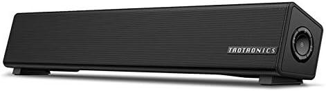 Bluetooth スピーカー TaoTronics PC サウンドバー ブルートゥーススピーカー テレビ/パソコン/スマホ/ゲーム機 対応 壁掛け 高音質 取り付け簡単 AUX 完全ワイヤレス【Amazon.co.jp 限定】