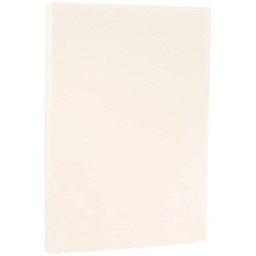 JAM PAPER Legal Strathmore 24lb Paper - 8.5 x 14 - Nautral White Wove - 100 Sheets/Ream