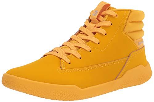 Caterpillar Women's Code Hex Hi Sneaker, Cat Yellow, 9.5