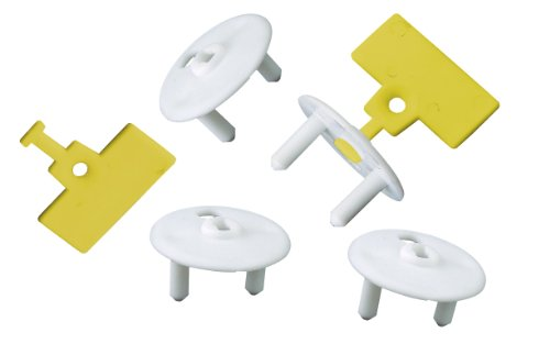 GAO H45x2+H46x6 Steckdosenschutz, 6-er Set Beutel mit 2 Schlüsseln