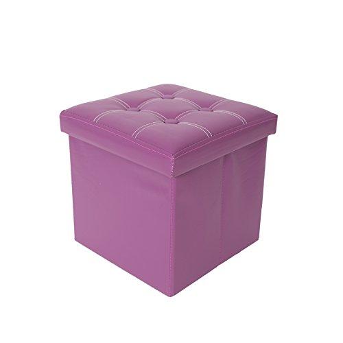 pouf contenitore bagno Rebecca Mobili Puff contenitore