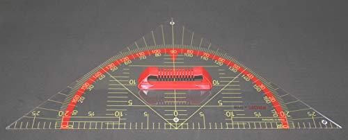 WISSNER aktiv Lernen-Tafel Zeichengeräte Kleiner Geometrie Winkel, 45° 60 cm