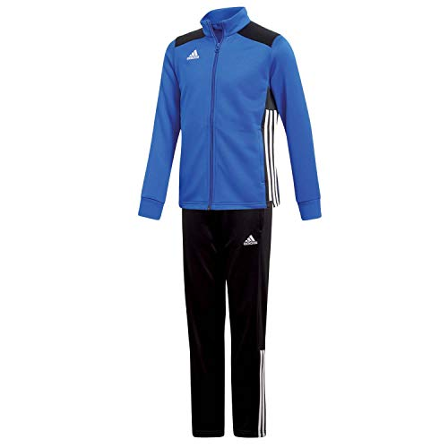 adidas Kinder Polyesteranzug Trainingsanzug Regista 18 BOBLUE/Black 116