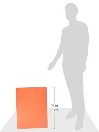 "Pacon SunWorks Construction Paper, 18"" x 24"", 50-Count, Orange (6617) Photo #2"