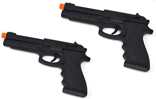 VENTURA TRADING Paquete de 2 Pistola de Juguete Pistola Desert Eagle con Sonido, vibración y Luces. Pistola de Juguete Pistola de fricción Sonido y Luces