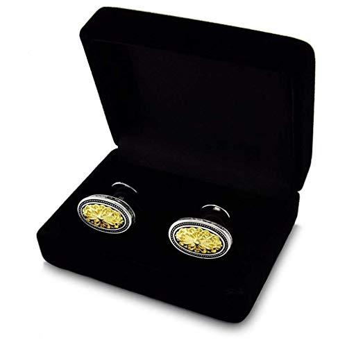 GCX Einfach Im europäischen Stil Retro Manschettenknöpfe Vergoldet Französisch Cuff Nails Hellen Männer Cuffs Business Casual Großzügig