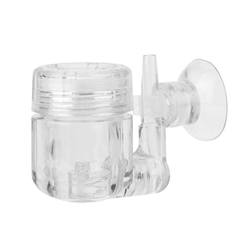 Mumusuki U-vormige Co2 diffuser,4 in 1 DIY Check CO2 System Valve Bubble Counter Geplant Aquarium Koolstofdioxide Reactor met Check Valve/U-Shape Glass Pipe/Sucker
