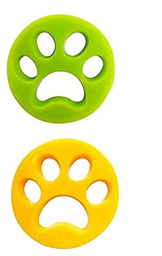MELISEN Haustier haarentferner für Wäsche Pet Hair Catcher Reinigung Ball Tierhaarentferner für Waschmaschine für Hundehaar, Katzenfell und alle Haustiere 2 Pack