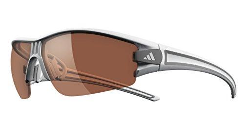 adidas Eyewear Evil Eye Halfrim XS, Farbe XS Weiß, grau