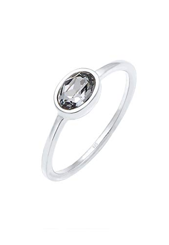 Elli Ring Damen mit Swarovski® Kristalle in 925 Sterling Silber