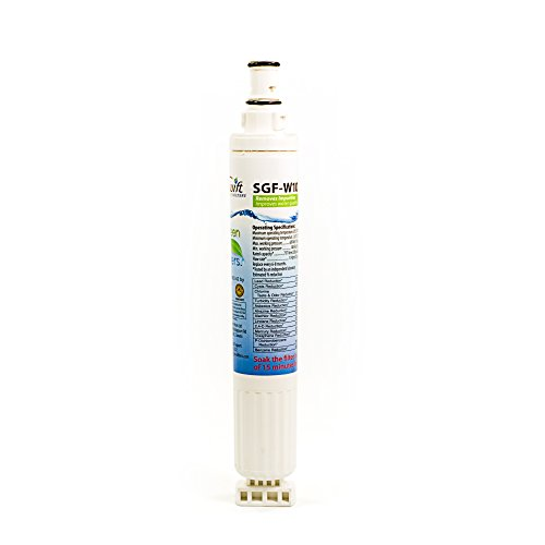 Whirlpool replacement water filter 4396701, 4396703, WF-L200V, WF-NL120V, Sears/Kenmore: 469915 100% recyclable, and made in U.S.A. and Canada SGF-W10