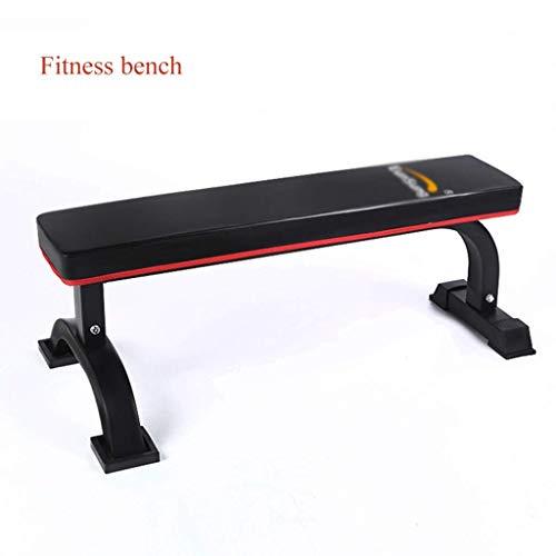 Baibao Fitness-Bett, Hantel Bank, Gewichtheben, Fitness, Bewegung, Ausbildung Bauchmuskeln, Linien, Bauchtraining, Muskeln, (Color : Black, Size : 110 * 59 * 42cm)
