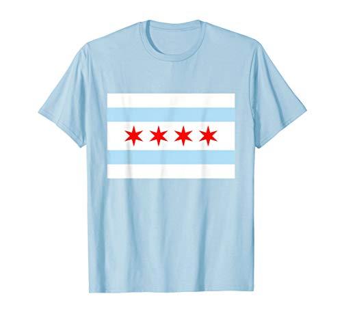 Chicago City Flag   City of Chicago Pride T-shirt