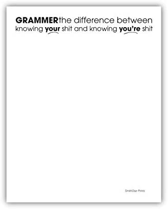 Knowing Your Purchase 5 ☆ popular Shit Funny Notepad - for Pad and Office Home Memo