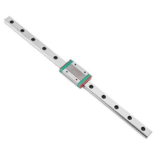 Boylee Miniature Linear Slide Rail Guide, DIY CNC Parts Computerized Numerical Control 3D Printer Accessories-for Automation Equipment