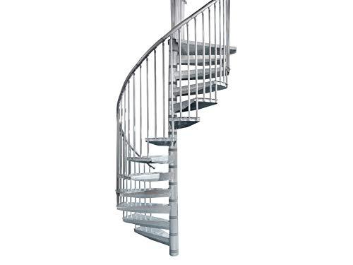 Intercon® Corona Stahltreppe in 3 verschiedenen Durchmessern (140 cm)