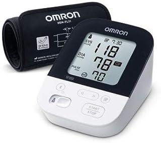 OMRON M4 Intelli IT - Medidor de presión de brazo con tecnología Intelli Wrap Cuff, conexión Bluetooth para aplicación Omron Connect