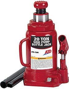 ATD Tools 7386 20-Ton Hydraulic Bottle Jack Side Pump