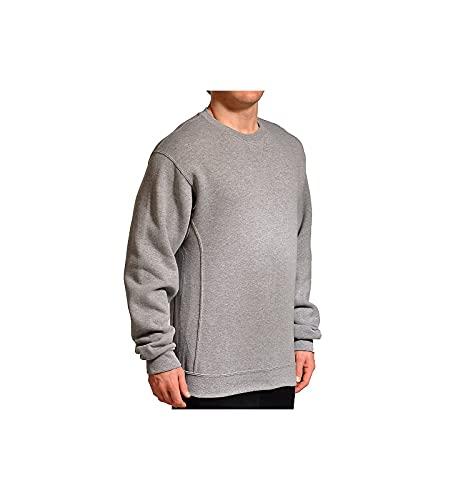 Russell Athletic Men's Dri-Power Fleece Sweatshirt, Oxford, Large