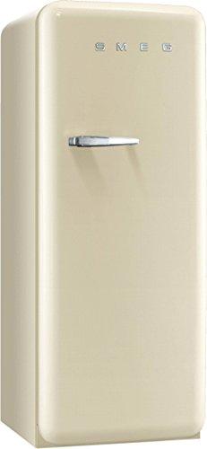 Smeg CVB20RP1 - Congelador (Vertical, 170 L, 20 kg/24h, SN-ST, A+, Crema de color)