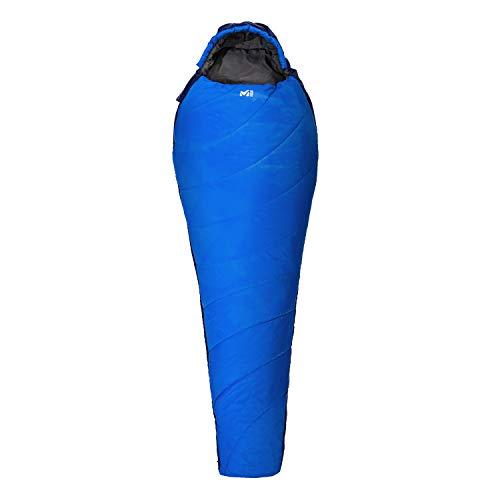 Millet - Baikal 750 Reg - Sac de Couchage Adulte avec Sac de Compression – Synthétique – Équipement Outdoor 2 Saisons (Confort 10°C) - Longueur : 210 cm