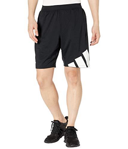 adidas,Mens,4K 3 Bar Shorts,Black,Small