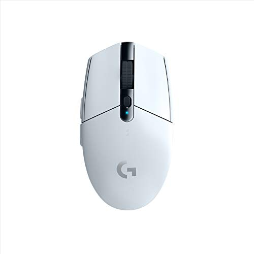 Logitech G305 Lightspeed Wireless Gaming Mouse, White (Renewed)