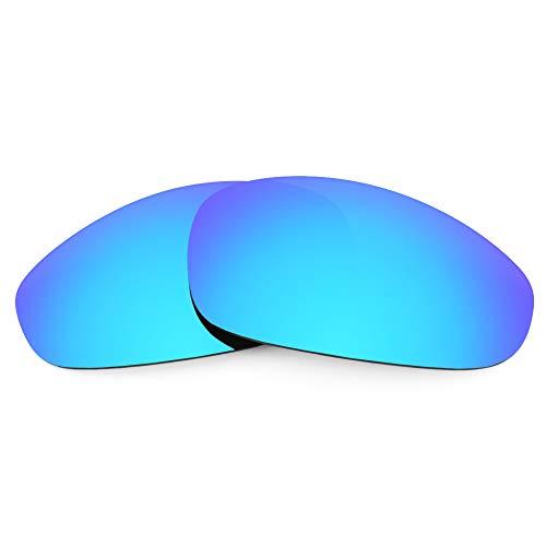 Revant Verres de Rechange pour Oakley Juliet, Polarisés, Bleu Glacier MirrorShield