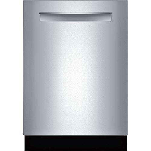 Bosch SHPM88Z75N 24' 800 Series Built-in Dishwasher with 16 Place Settings, 6 Wash Cycles, MyWay 3rd Rack, CrystalDry and 40 dBA (Pocket Handle)