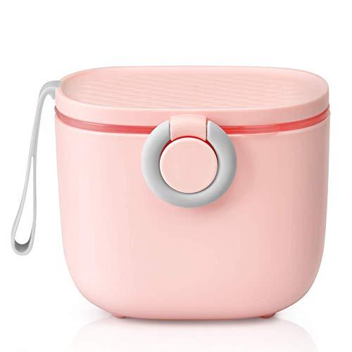Dispensador de leche en polvo portátil para bebé, sin BPA, para guardar leche en polvo, dosificador de leche en polvo, para bebés