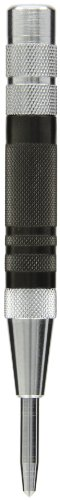 Fowler - 52-500-290-0 52-500-290 Hardened Steel Super Heavy Duty Automatic Center Punch, 6
