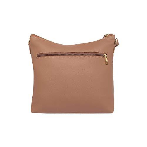 Baggit Women's Synthetic Handbag (Pink)