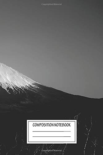 Notebook: Mt Fuji , Journal for Writing, Size 6
