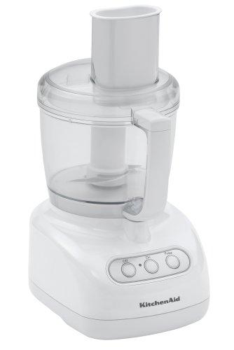 KitchenAid Food Processor RKFP710WH, 7-Cup, White, (Renewed)