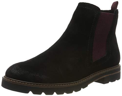 Marco Tozzi Damen 2-2-25431-23 Chelsea Boots, Schwarz (Black Comb 098), 39 EU