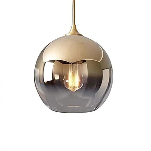 Chandelier de granja Soporte de lámpara de cono de aluminio giratorio Gold Platinum Glass Ahorro de energía LED LIGHTING Aladera ajustable es adecuada para contadores de barras de dormitorio para el h