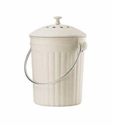 Eddingtons Eco Bac à Compost avec filtres Crème