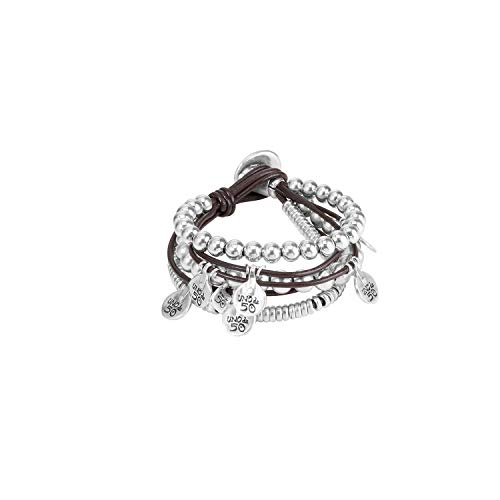 Uno de 50 Damen-Statement-Armbänder Versilbert PUL0524MTL