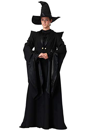 Charades Deluxe Professor McGonagall Adult Costume Large Black