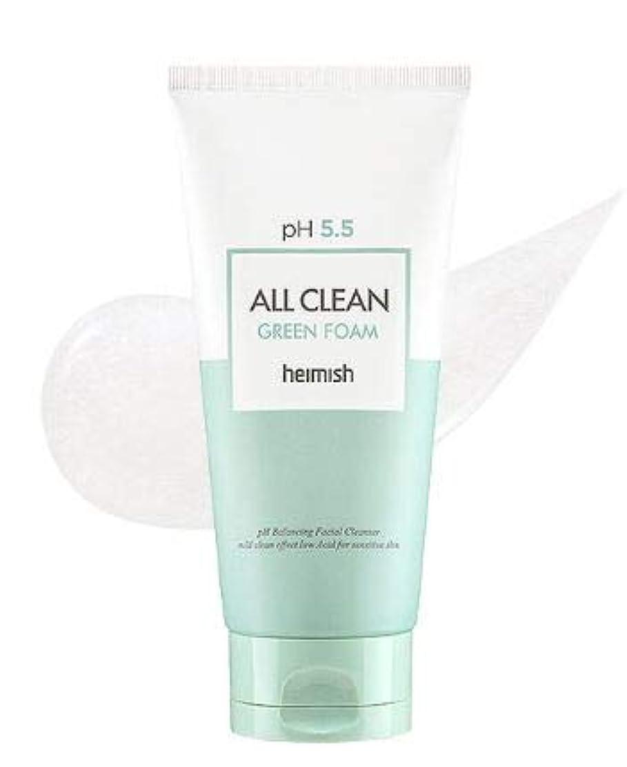 スナップ逆上院議員[heimish] All Clean Green Foam 150g / [ヘイミッシュ] オールクリーン グリーン フォーム 150g [並行輸入品]