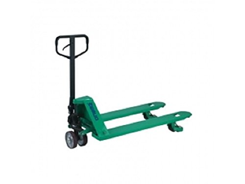 Wesco Industrial Products 272740 Specialty Trans Roller Pallet Truck with Handle, Moldon...