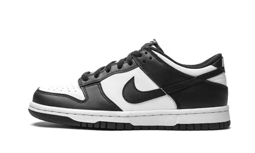 Nike Dunk Low (GS), Scarpe da Basket, White/Black-White, 40 EU
