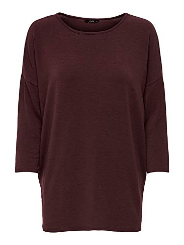ONLY Jersey para mujer. Madder Brown (15157920) S