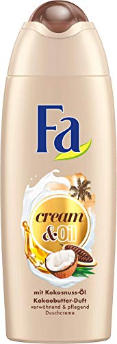 FA Duschcreme Cream & Oil mit Kokosnuss-Öl und Kakaobutter-Duft ,6er Pack (6 x 250ml)