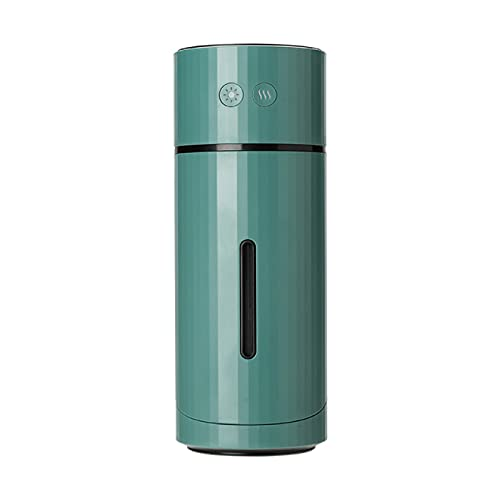 Humidificador USB 90 grados girar humidificador de aire portátil ultrasónico 1000 mAh batería USB recargable coche Mist Maker humidificadores