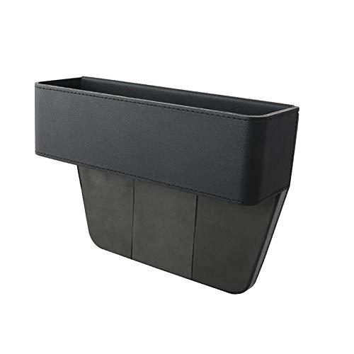 Mackur Autozubehör, Tasche, Organizer für Lücke neben dem Sitz, Aufbewahrungsbox, Münzfach, Cupholder,1 Stück