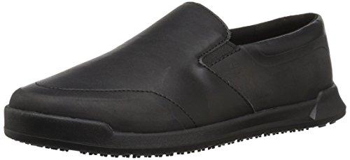 Shoes for Crews Men's Mason Slip Resistant Driving Style Loafer, Black, 14 Wide US